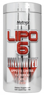 Nutrex INTL Lipo - 6 Unlimited (120 кап)