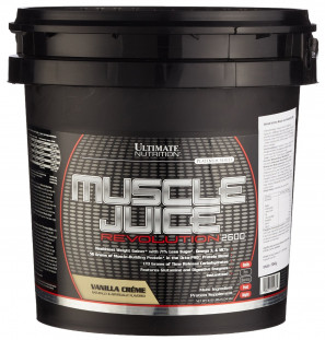 Гейнер Ultimate Nutrition Muscle Juice Revolution 11 lb (5000 г)